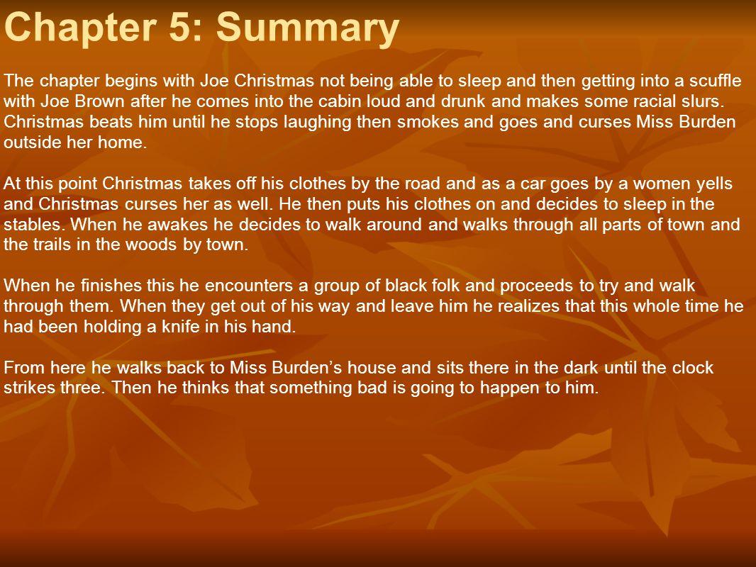 Chapter 5: Summary