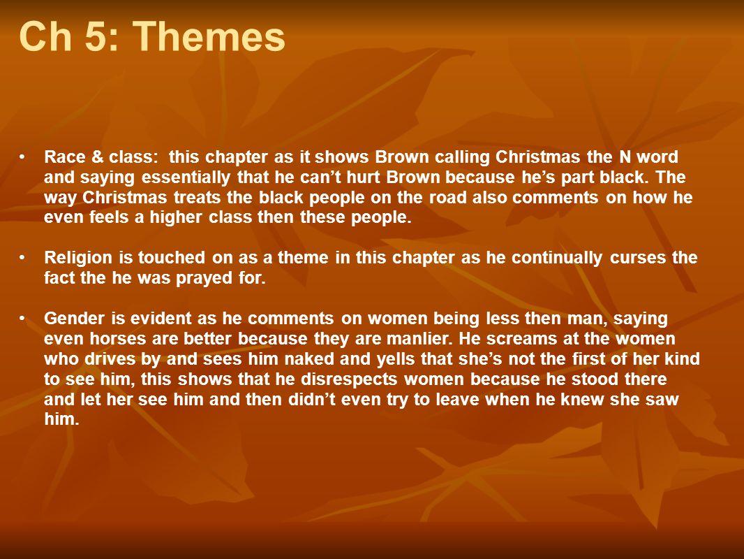 Ch 5: Themes