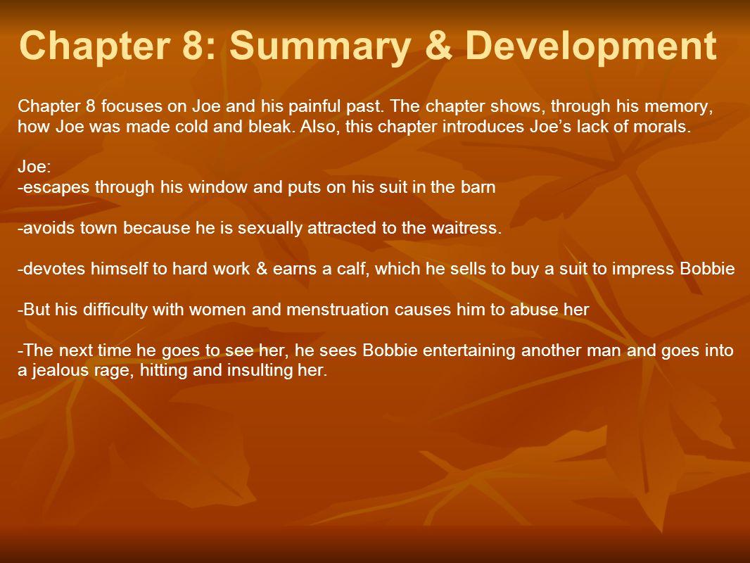 Chapter 8: Summary & Development