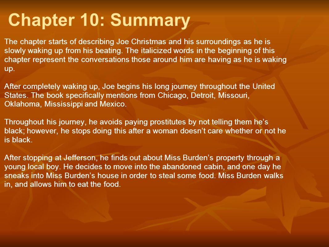Chapter 10: Summary