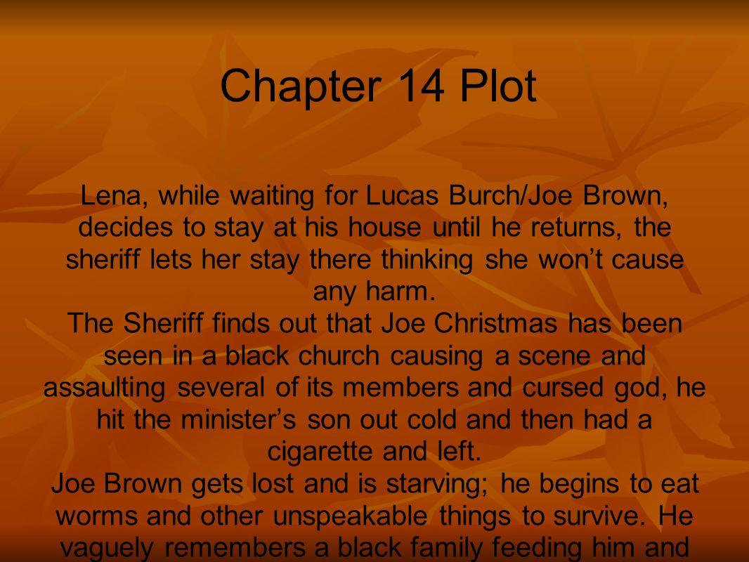 Chapter 14 Plot