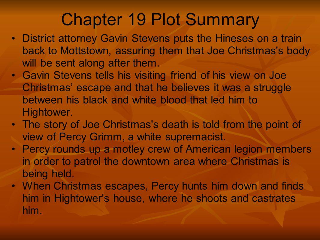 Chapter 19 Plot Summary