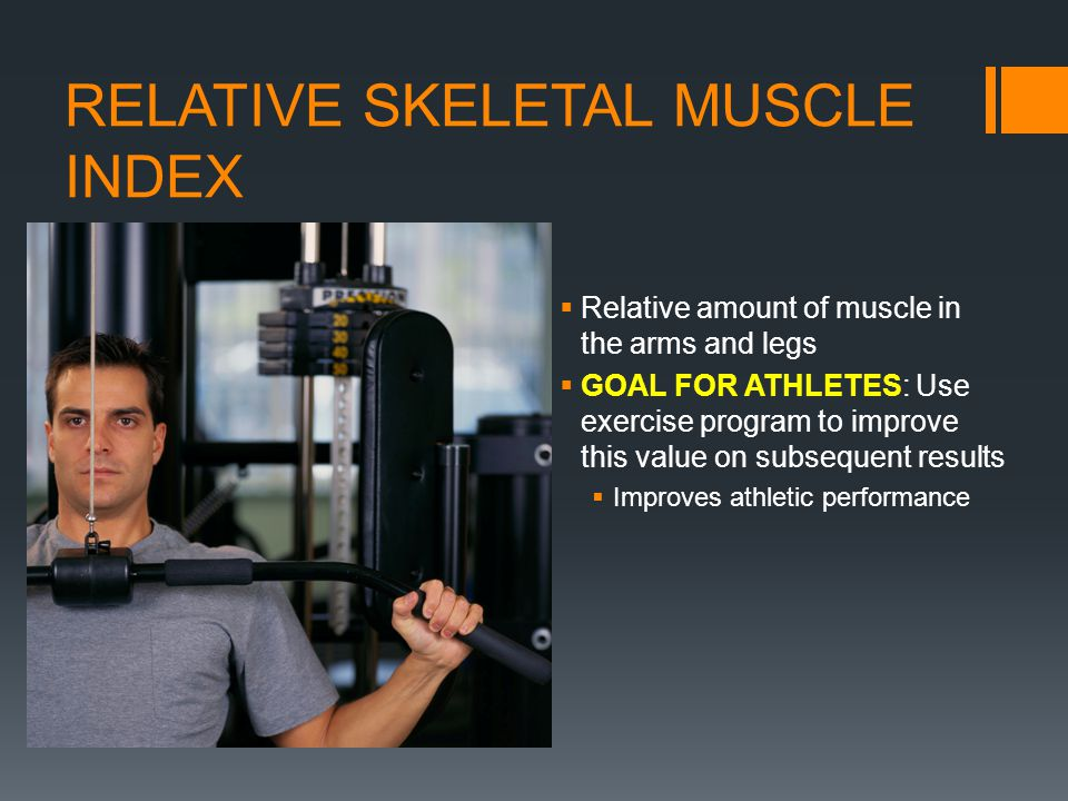 RELATIVE SKELETAL MUSCLE INDEX