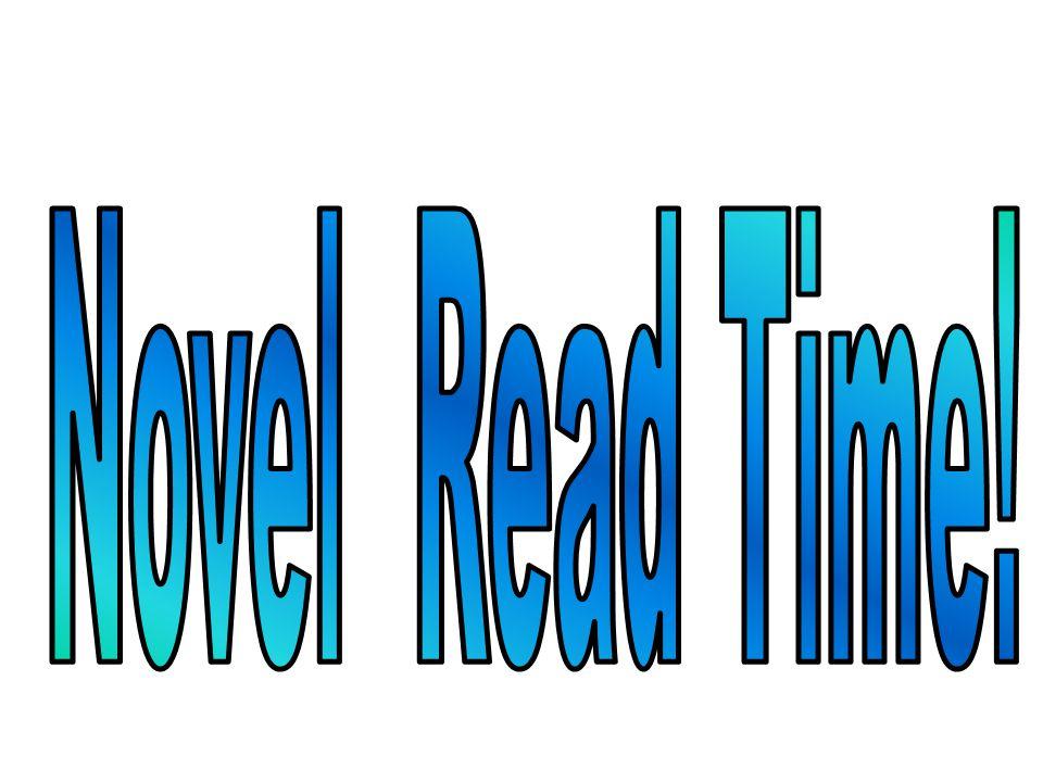 Novel Read Time!