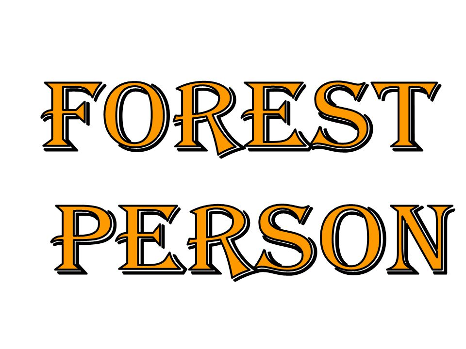Forest person