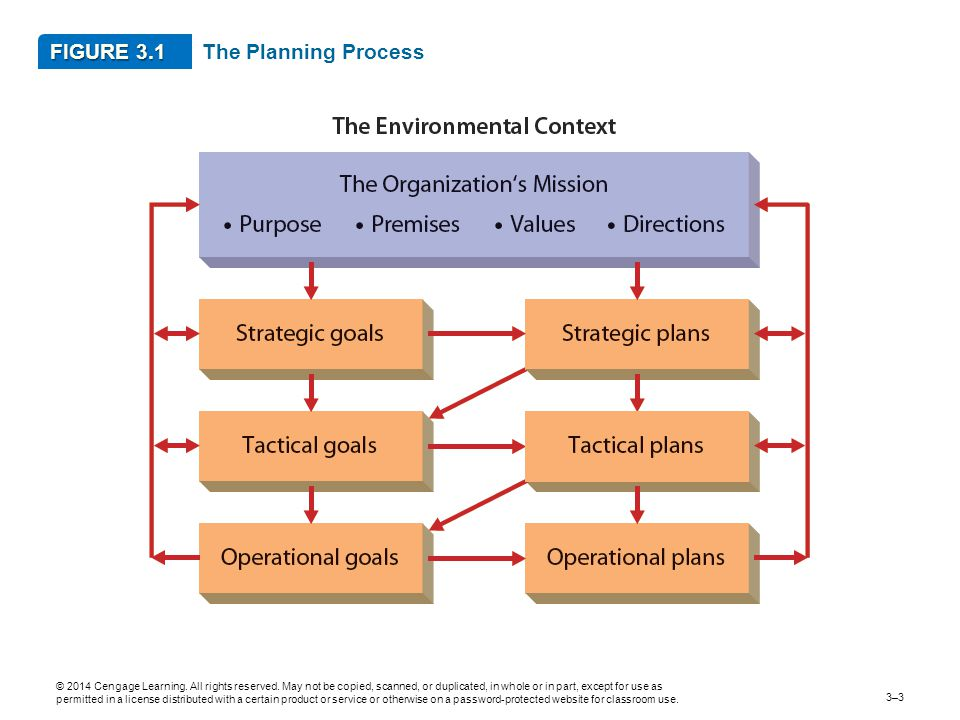 FIGURE 3.1 The Planning Process