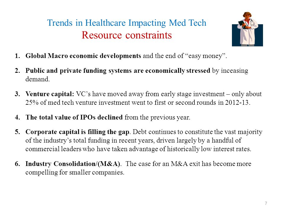 Trends in Healthcare Impacting Med Tech Value-based Healthcare