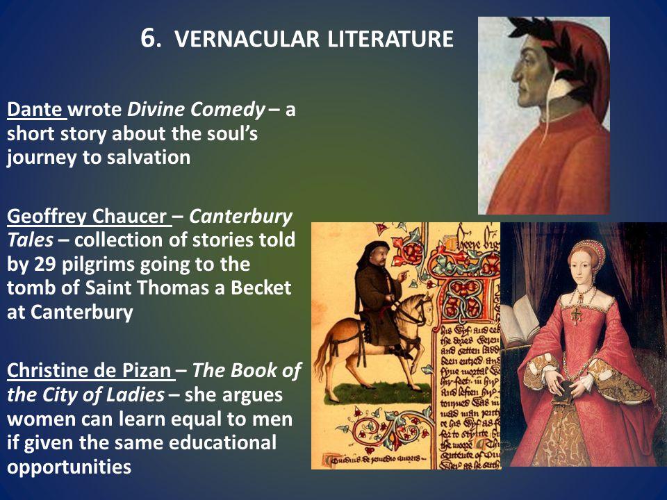 6. VERNACULAR LITERATURE