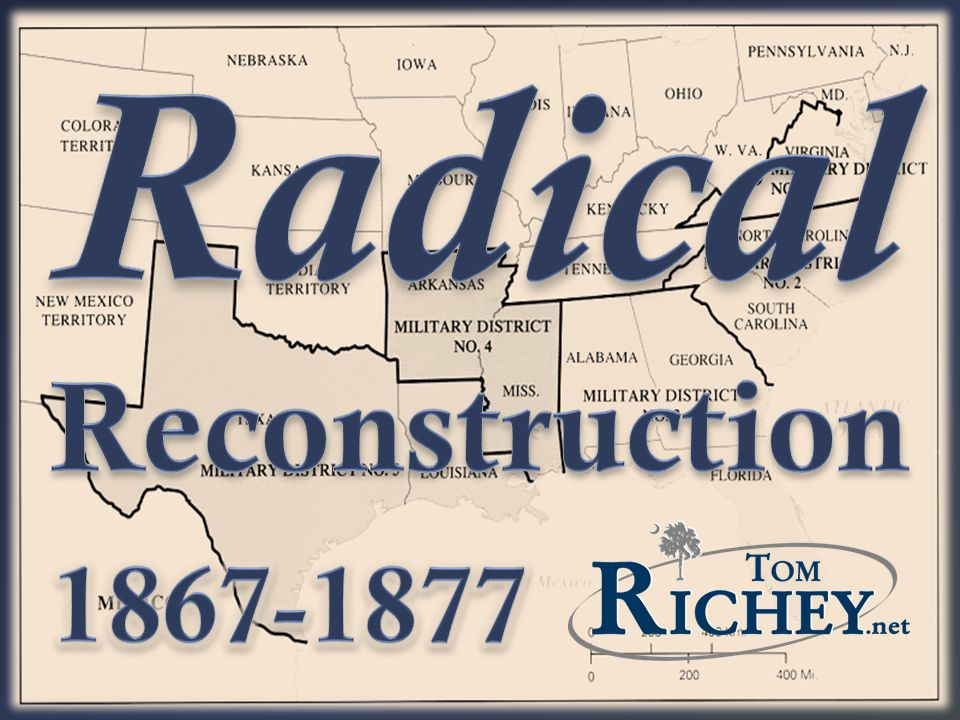 Radical Reconstruction Ppt Video Online Download