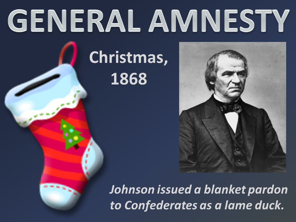 GENERAL AMNESTY Christmas, 1868
