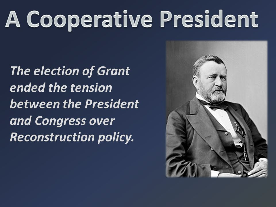 A Cooperative President