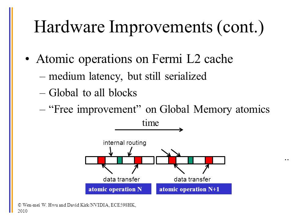 Hardware Improvements (cont.)