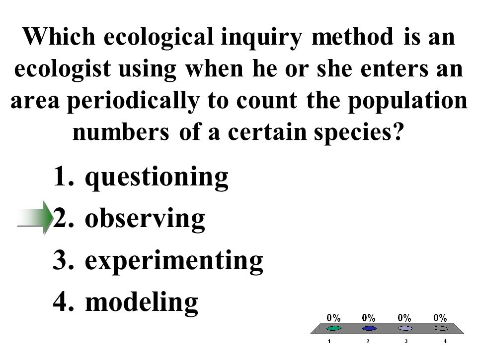 questioning observing experimenting modeling