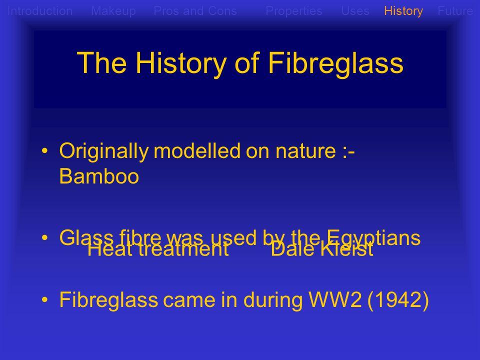 The History of Fibreglass