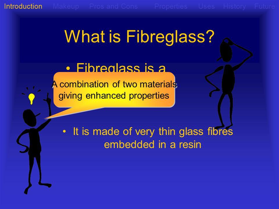 What is Fibreglass Fibreglass is a composite