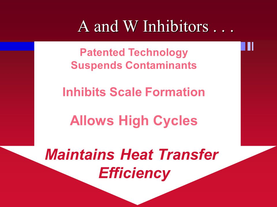 Suspends Contaminants Inhibits Scale Formation Maintains Heat Transfer