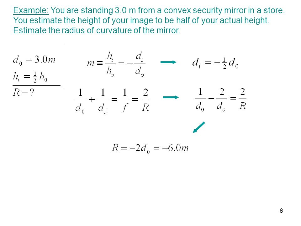 Example: You are standing 3