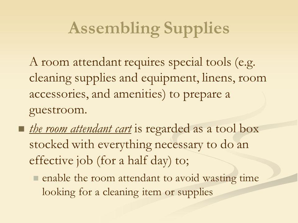 Assembling Supplies