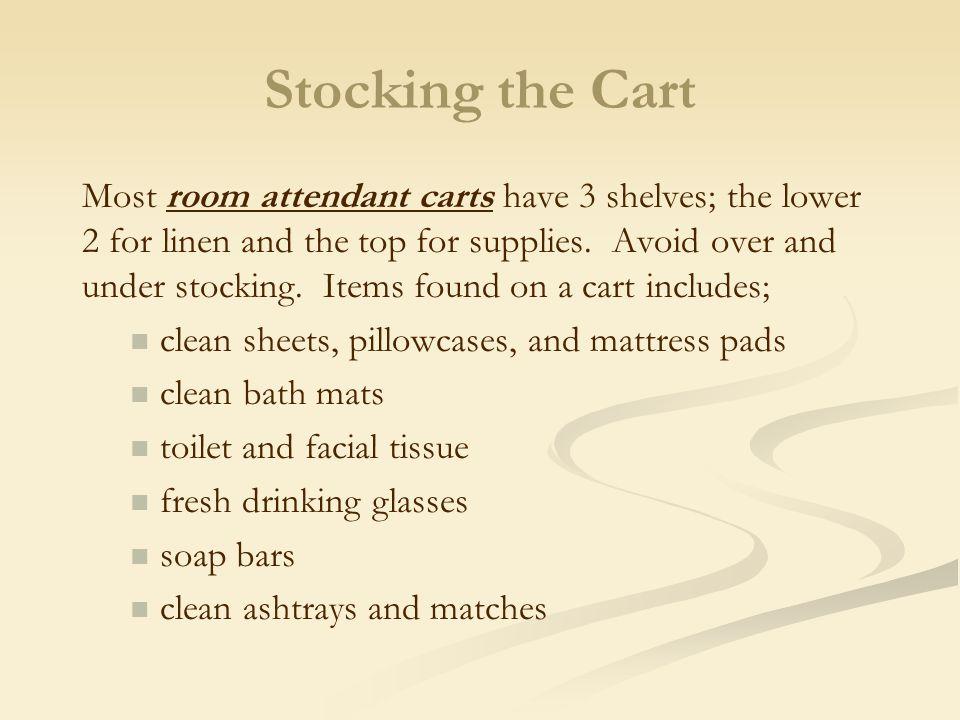 Stocking the Cart