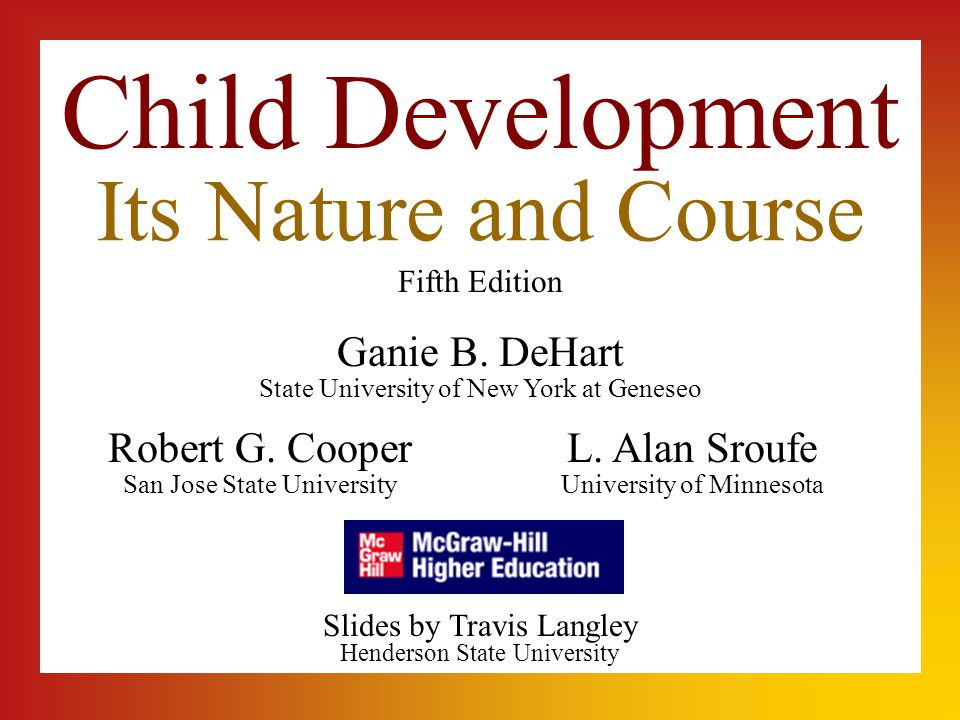 Child Development Its Nature and Course Child Development