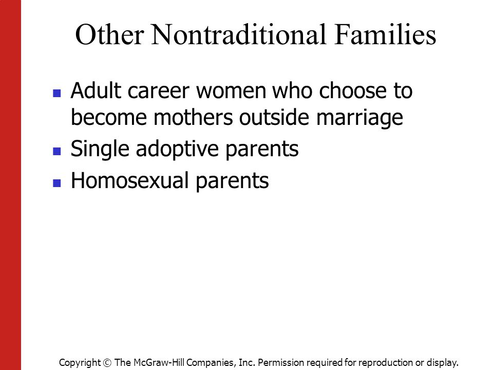 Other Nontraditional Families