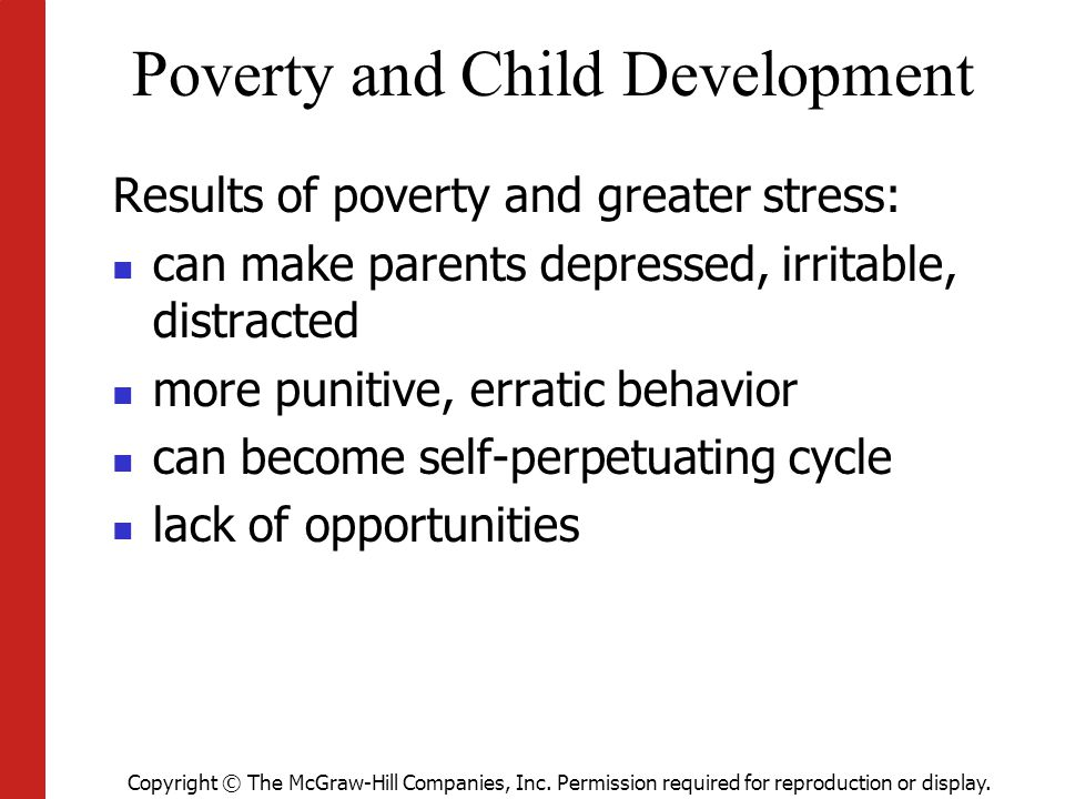 Poverty and Child Development