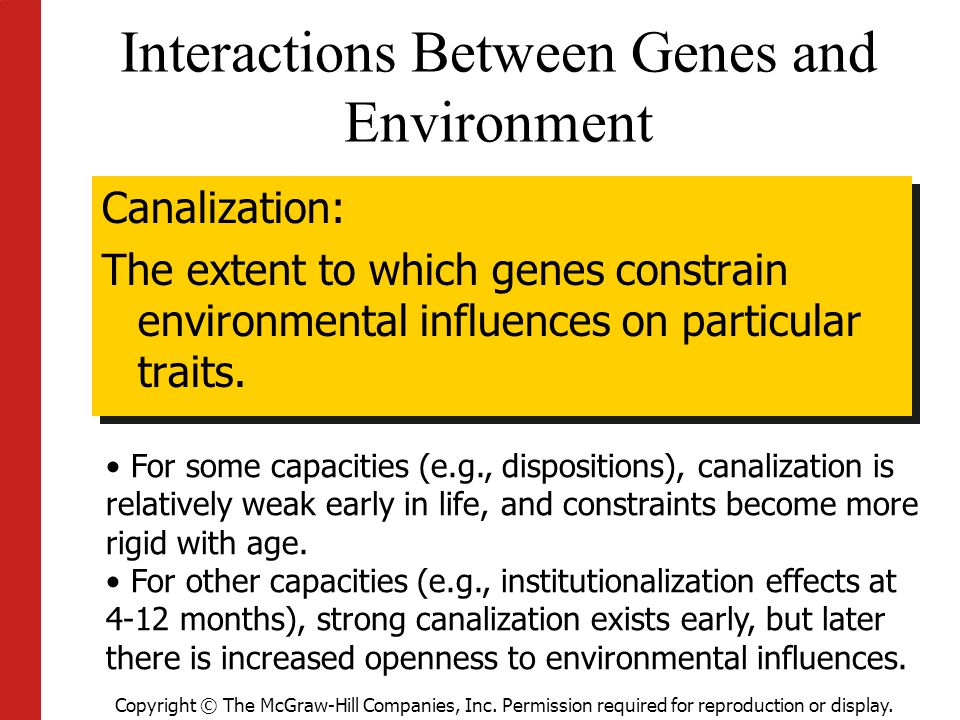 Interactions Between Genes and Environment