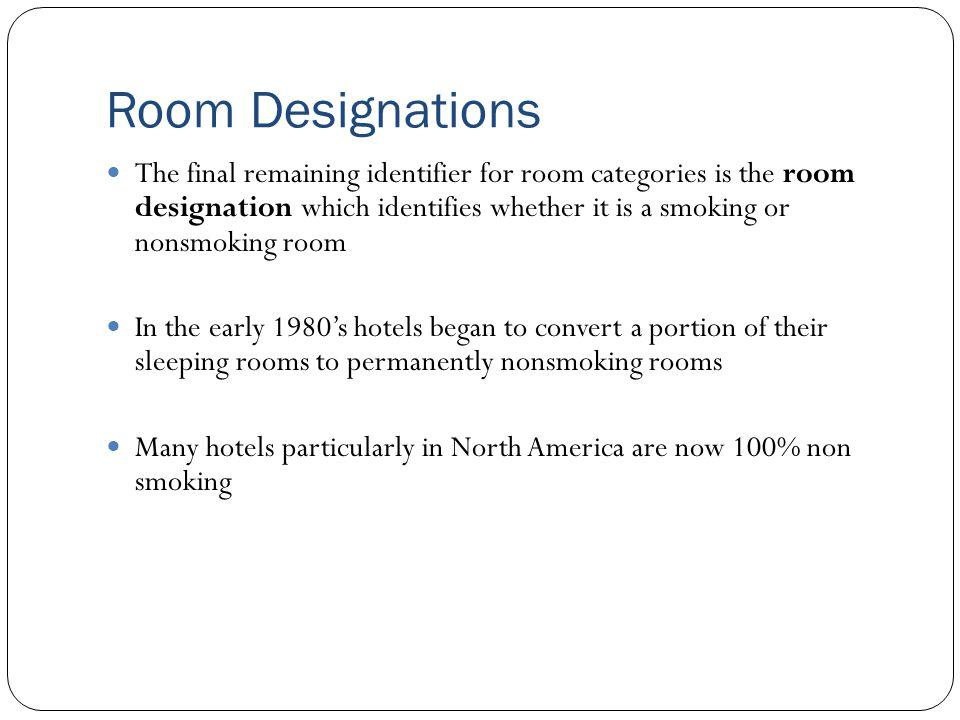 Room Designations