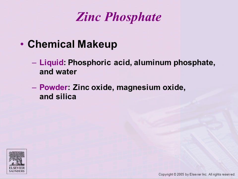 Zinc Phosphate Chemical Makeup