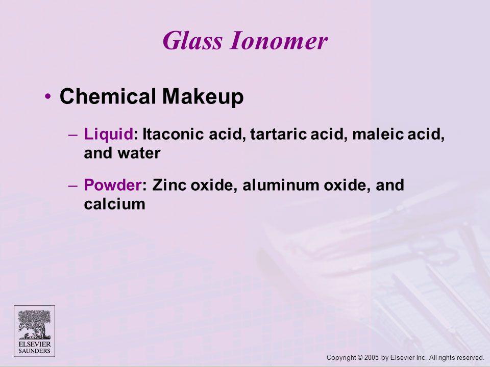 Glass Ionomer Chemical Makeup