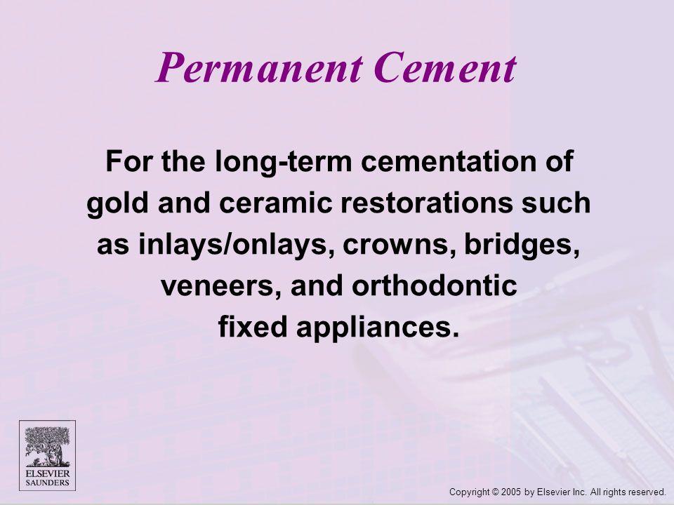 Permanent Cement