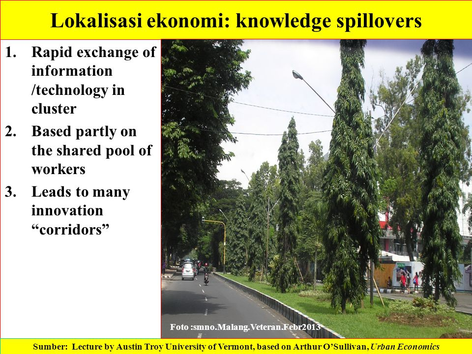 Lokalisasi ekonomi: knowledge spillovers