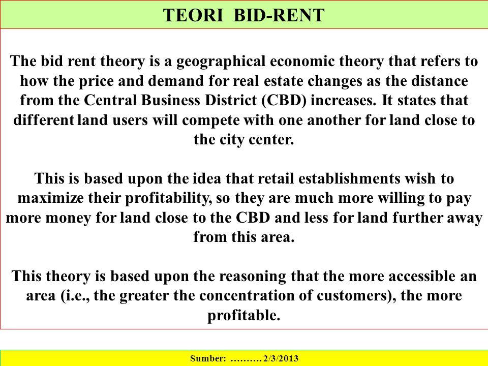 david ricardo theory of rent pdf