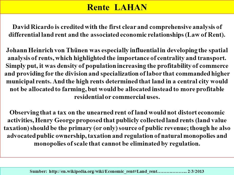 Rente LAHAN