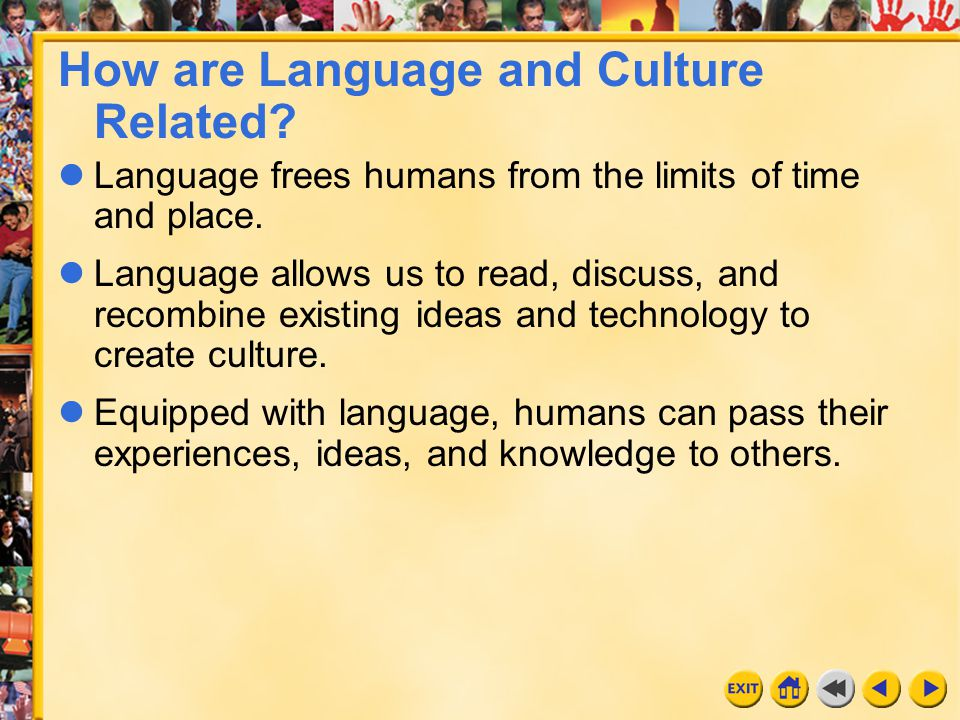 How are Language and Culture Related