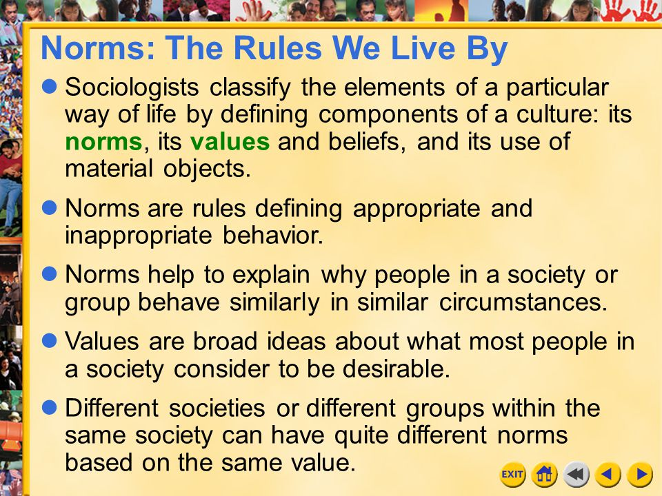 Norms: The Rules We Live By