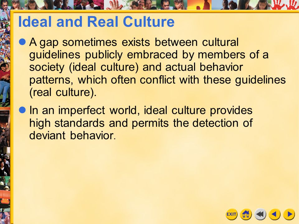 Ideal and Real Culture