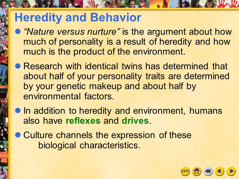 Heredity and Behavior
