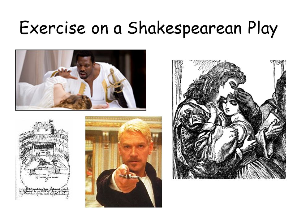 Exercise on a Shakespearean Play