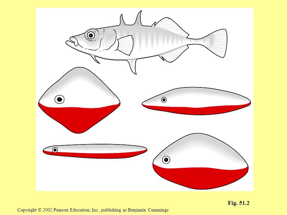 Fig. 51.2 Copyright © 2002 Pearson Education, Inc., publishing as Benjamin Cummings