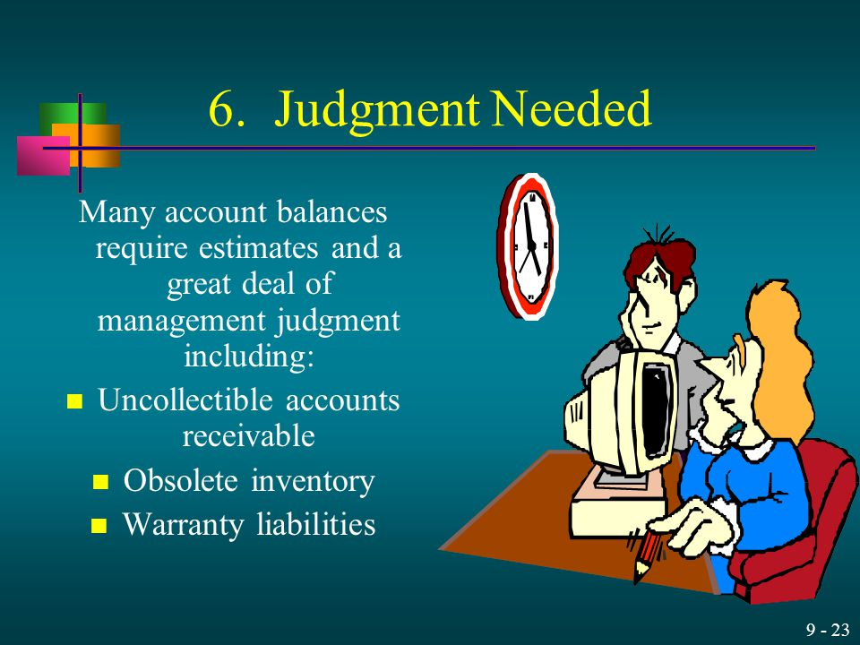 Uncollectible accounts receivable