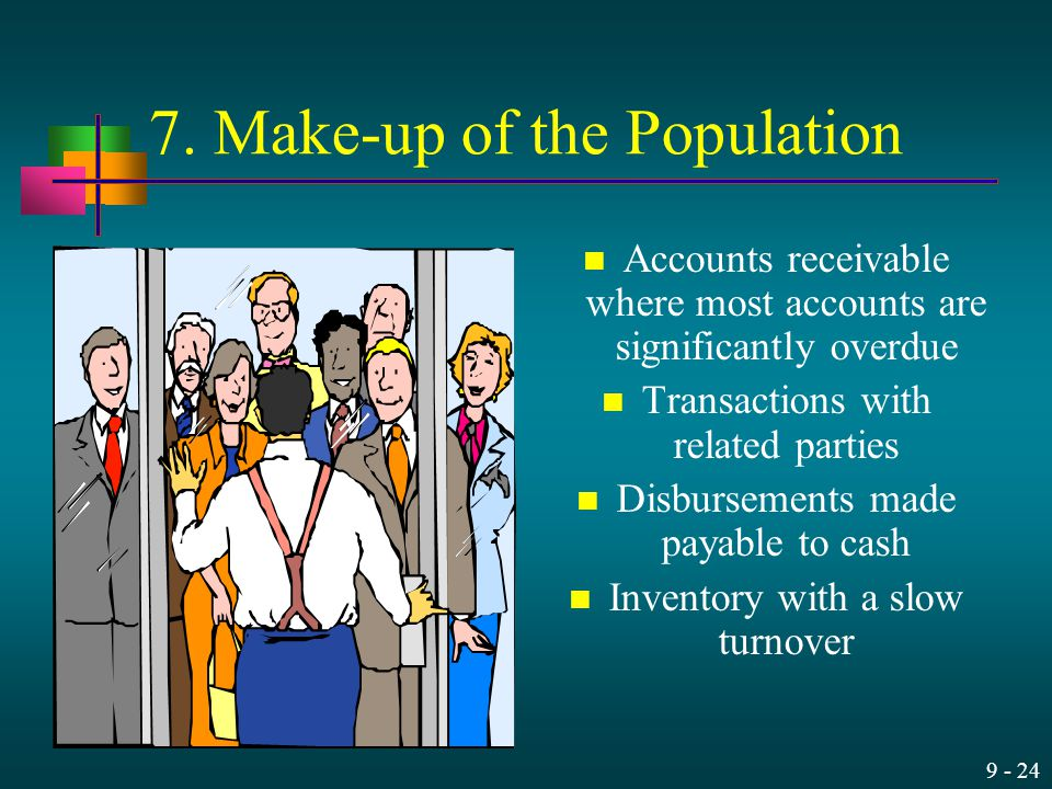 7. Make-up of the Population