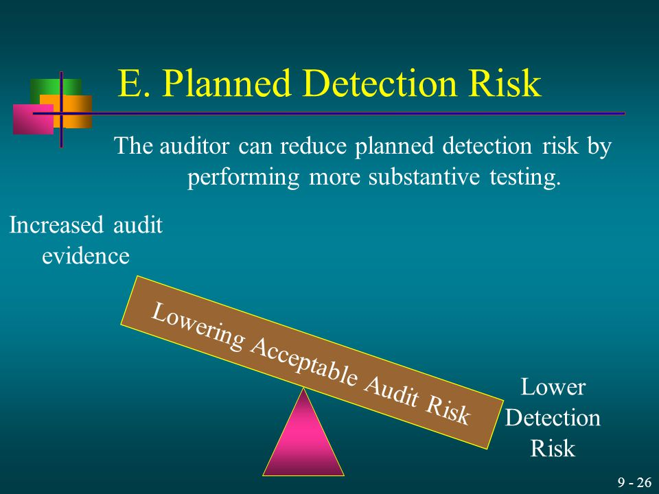 E. Planned Detection Risk
