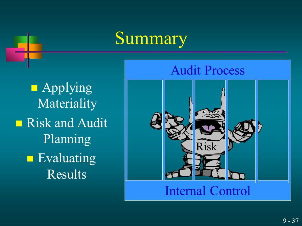 Risk and Audit Planning