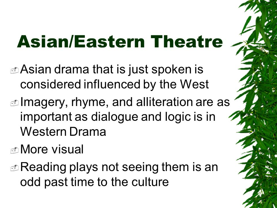 Asian/Eastern Theatre