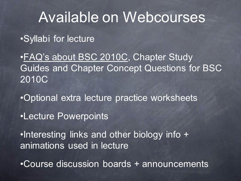 Available on Webcourses