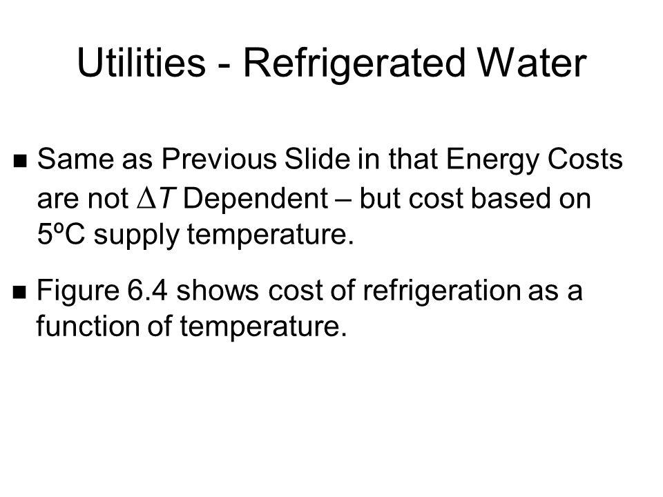 Utilities - Refrigerated Water