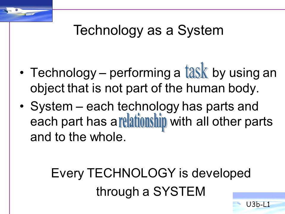 Every TECHNOLOGY is developed