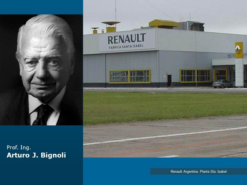 Renault Argentina. Planta Sta. Isabel