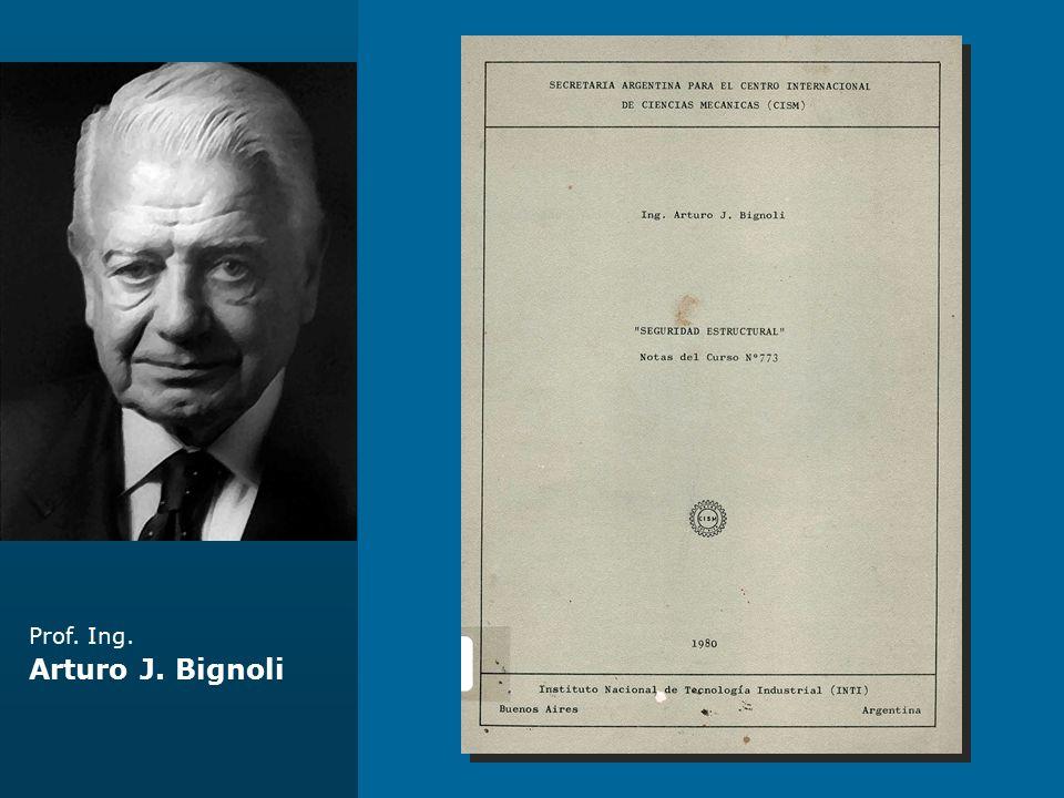 Prof. Ing. Arturo J. Bignoli